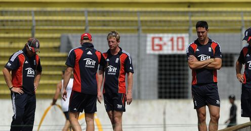 Bell, Collingwood and Pietersen: battling for a place at the World Cup