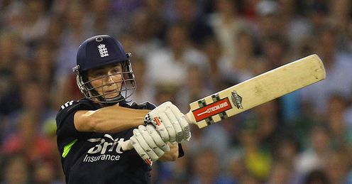 Controlled aggression: Woakes has proved a hit with the bat - and is accurate with the ball