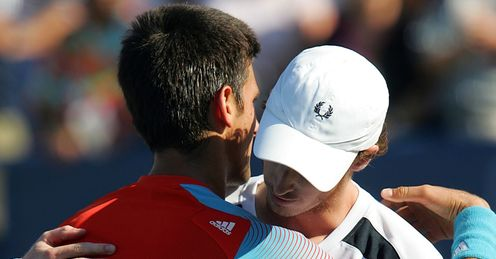 Novak Djokovic Andy Murray 2008