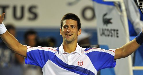 Novak Djokovic Australian Open sf