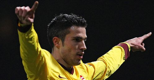 Robin van Persie Arsenal Premier League
