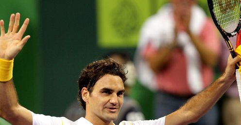 Roger Federer Doha Celeb