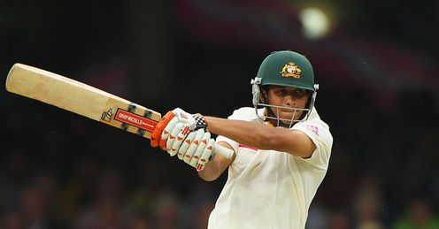 Balanced game: Khawaja was compact in defence but attacked when England&#39;s seamers strayed
