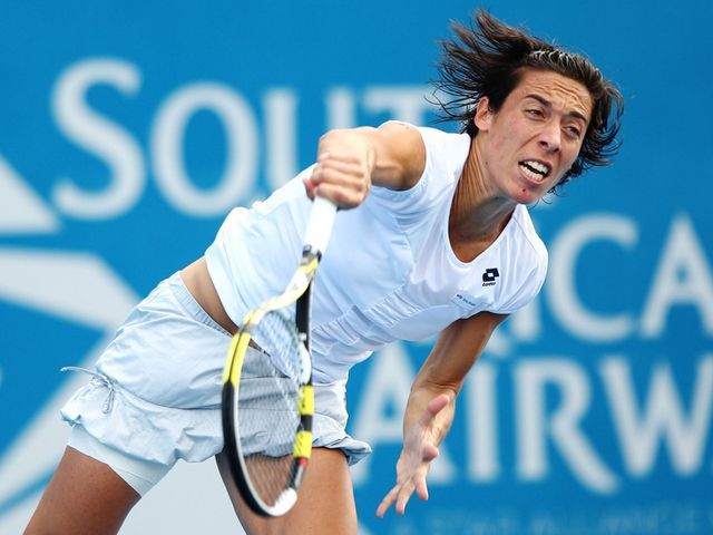 Schiavone - shock winner in Paris in 2010.