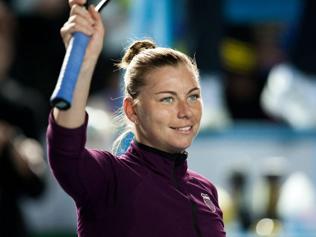 Zvonareva - two Grand Slam finals in 2010.