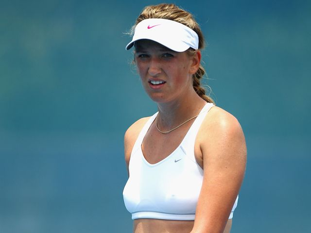 Azarenka - former junior champ.