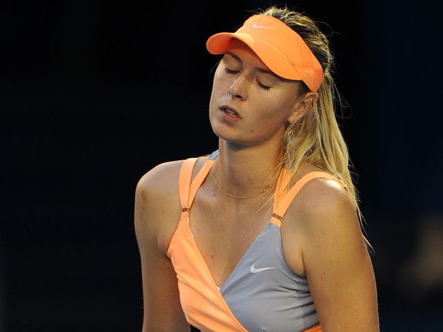 Maria Sharapova - showing signs of old form.