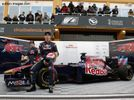 Toro Rosso And Williams Launch