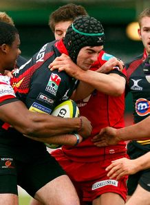 Adam Hughes dragons v scarlets LV Cup