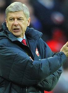 Wenger dealing with frustration