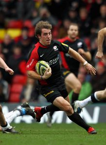 Chris Wyles Saracens v Sale LV cup 2011