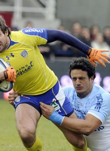 Clermont s James Brock v Bayonne 2011