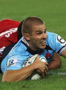Drew Mitchell try v Reds Super Rugby 2011