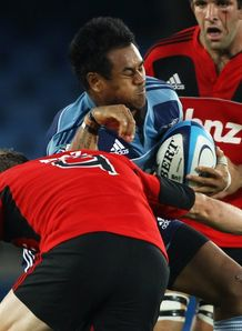 Isaia Toeava met solidly against Crusaders