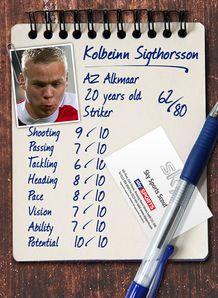 Sky Sports Scout - Kolbeinn Sigthorsson