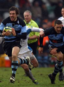 Luke Fielden Newcastle v Exeter lv cup 2011