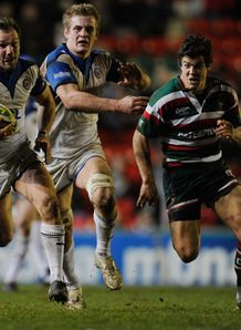 Marc McMillan for Bath against Leicester