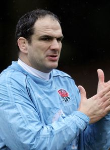 Martin Johnson England training