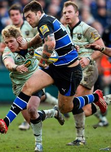 Matt Banahan Bath v saints 2011