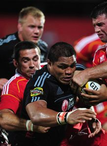 Nick Williams aironi Munster