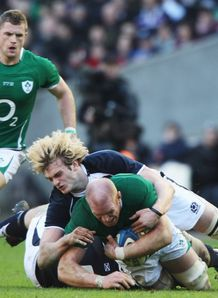 Paul O connell Richie Gray Ireland v Scotland 2011
