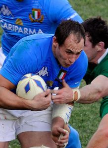 Sergio Parisse italy ireland 6N 2011