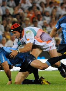 Wynand Olivier against Cheetahs in 2010