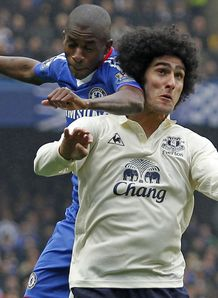 Fellaini ignoring transfer talk