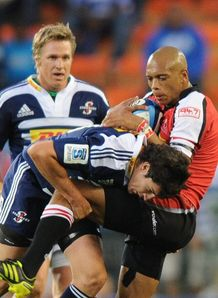 Jaque Fourie stormers v lions