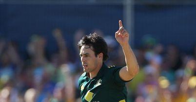 Johnson: three wickets