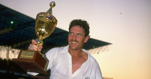 Allan Border Australia Cricket World Cup Final 1987