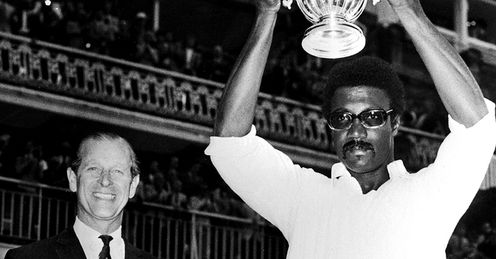 Clive Lloyd Cricket World Cup History 1975