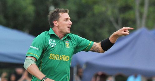 Point to prove: South African paceman Dale Steyn will hope to inspire South Africa to glory