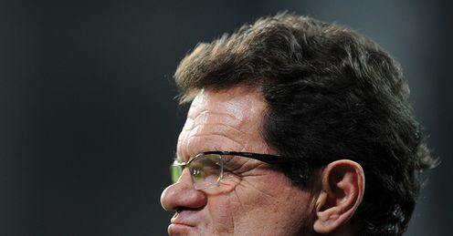 Fabio Capello England Denmark International Friendly