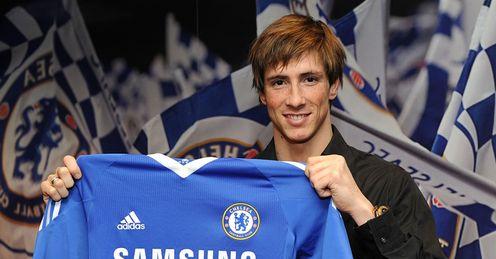 Fernando Torres Chelsea Shirt Signing