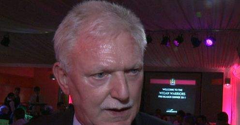 Giving France a chance: Wigan chairman Ian Lenagan