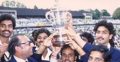 Kapil Dev India Cricket World Cup 1983