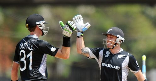 Martin Guptill Brendon McCullum New Zealand