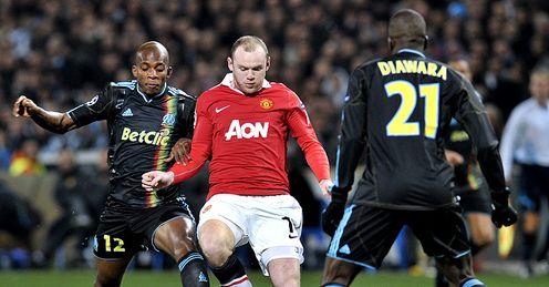 Марсель и Манчестер Юнайтед расписали ничью.