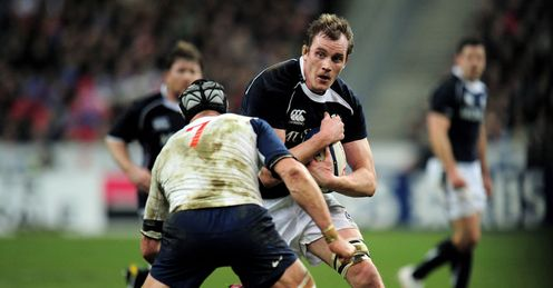 Alastair Kellock Scotland v France Six Nations Stade de France Paris Feb 2011