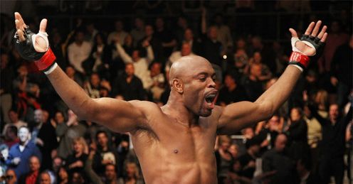Silva: celebrates his victory -thanks to none other than Steven Segal!