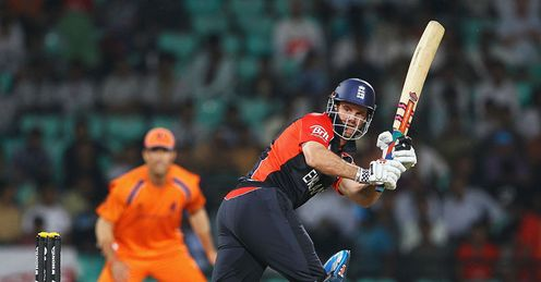 Andrew Strauss England v Netherlands World Cup Nagpur Feb 2011