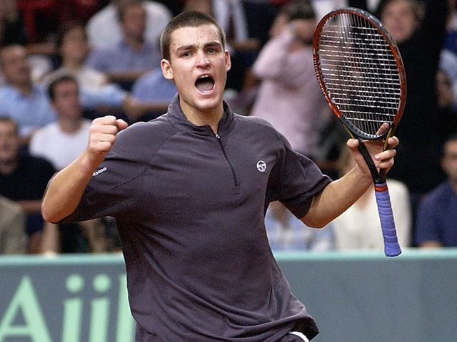 Mikhail Youzhny - stuttering season so far.