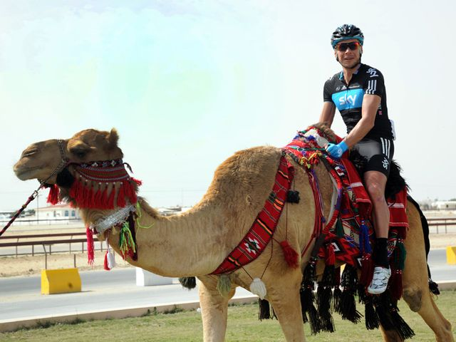 Jeremy Hunt enjoyed his trip to Qatar last season