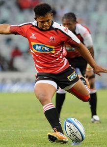 Eltion Jantjies lions super rugby place kick