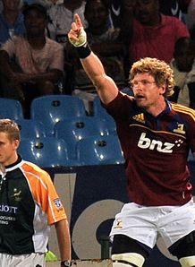 Highlander s NZN flanker Adam Thomson