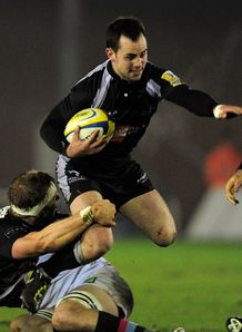 Micky Young Newcastle Harlequins 2011