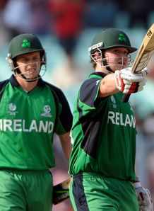 Ireland end on a high