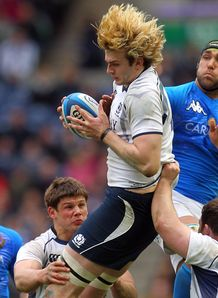 Richie Gray Scotland v Italy