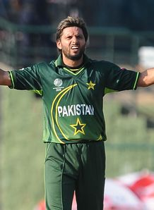 Afridi sets sights on Aussies